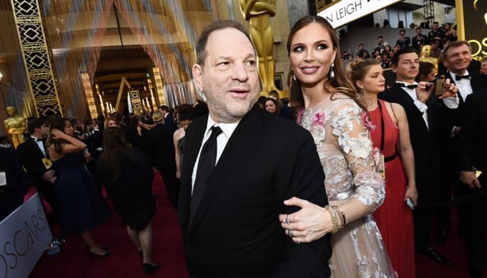 زوجة المنتج واينستين: وقائع التحرش أصابتني بالغثيان