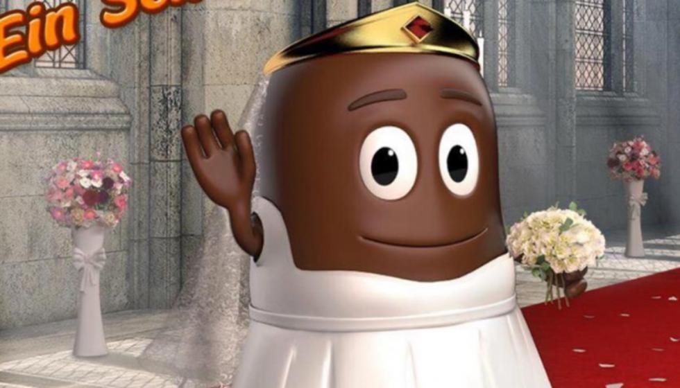اعتذار عن حلوى بالشوكولاته تسيء لميغان ماركل