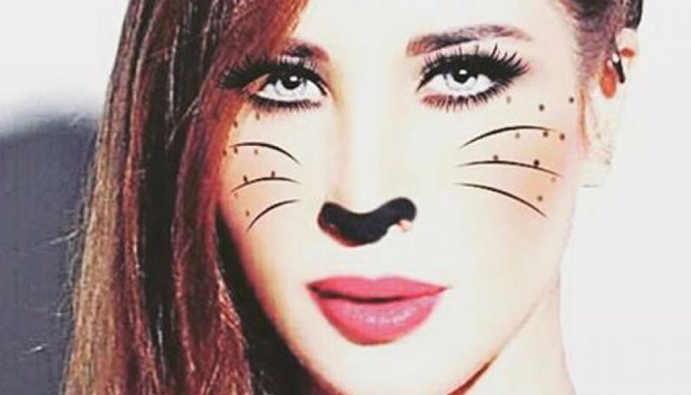 عندما تتحول نانسي عجرم إلى قطة!