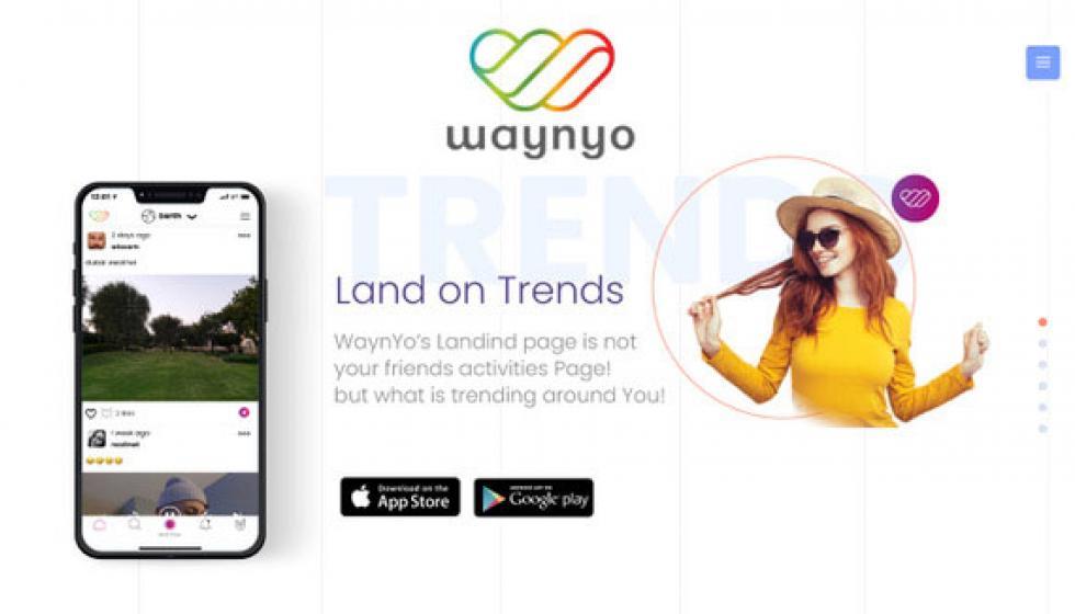 WaynYo... أول تطبيق عربي يكتسب ثقة المستخدمين ويدخل مرحلة ألإنتشار