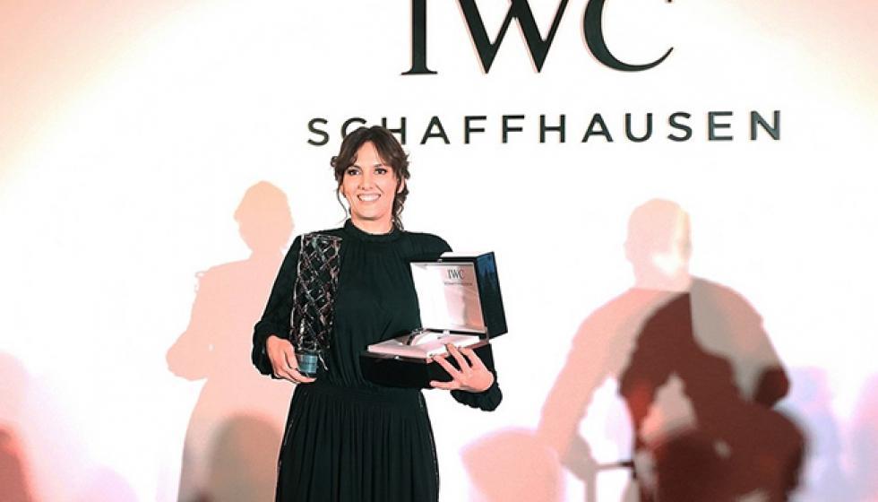 """المخرجة الإمارتية ليلى كيليف تفوز بجائزة """"أي دبليوسي"""""""