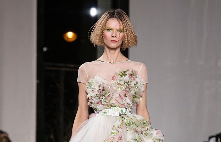 المصمم جورج شقرا في أسبوع الموضة في باريس 2019